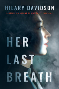 Cover image of the novel HER LAST BREATH